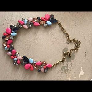 J crew Mixed stone necklace